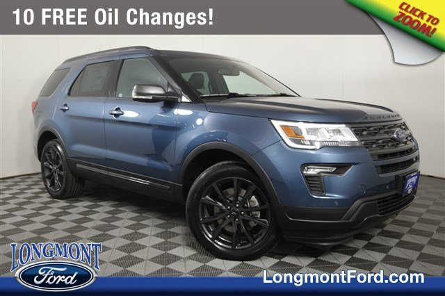 2018 Ford Explorer Spec >> New 2018 Ford Explorer Xlt Sport Utility In Longmont 18t803