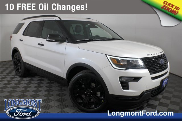 2019 Ford Explorer >> New 2019 Ford Explorer Sport Sport Utility In Longmont 19t066