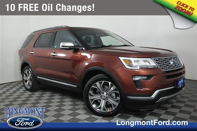 New 2018 Ford Explorer Platinum Sport Utility in Longmont ...