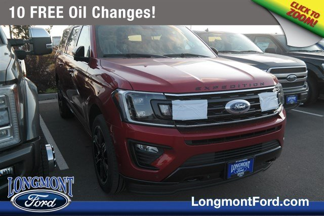 New 2019 Ford Expedition Max Limited With Navigation & 4WD