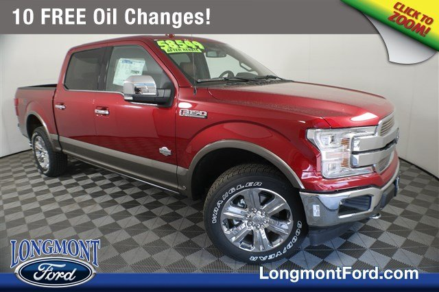 New 2019 Ford F 150 King Ranch With Navigation 4wd