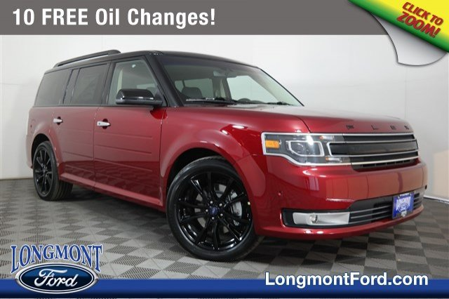 New 2019 Ford Flex Limited EcoBoost With Navigation & AWD