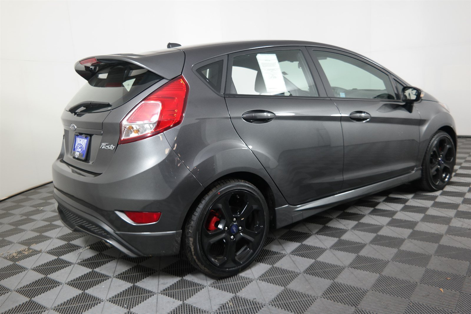 Ford fiesta st curb weight