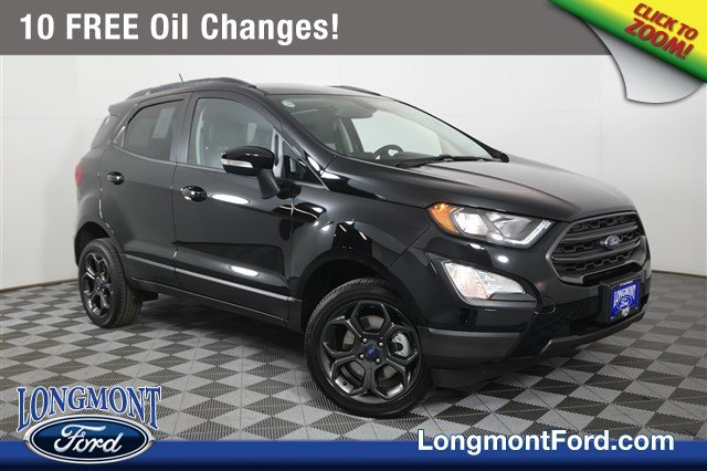 New Ford Explorer >> New 2018 Ford EcoSport SES Sport Utility in Longmont #18T293 | Longmont Ford