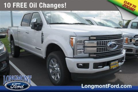 New 2018 Ford Super Duty F-350 SRW Platinum With Navigation