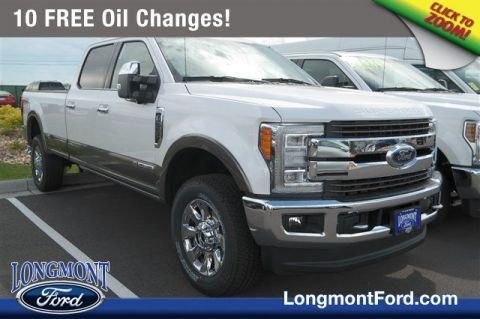 New 2018 Ford Super Duty F-350 SRW King Ranch With Navigation
