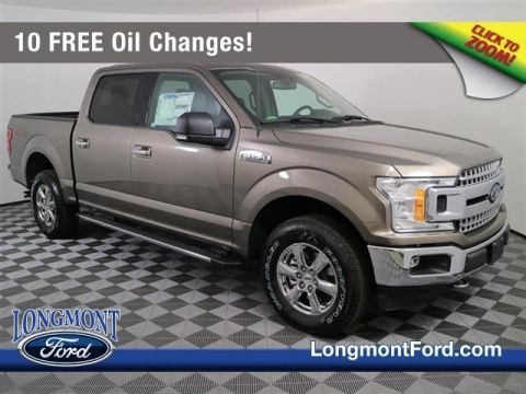 New 2018 Ford F-150 XLT With Navigation & 4WD