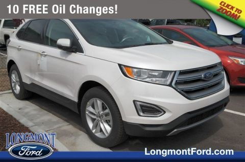 New 2018 Ford Edge SEL With Navigation & AWD
