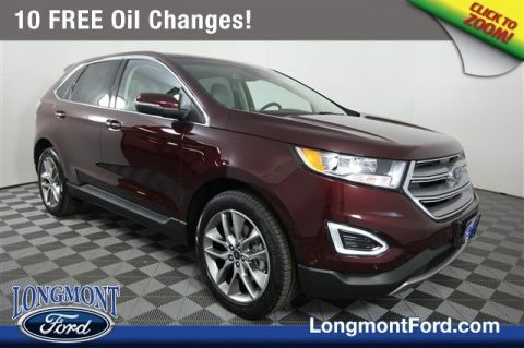 New  Ford Edge Titanium Sport Utility In Longmont T Longmont Ford